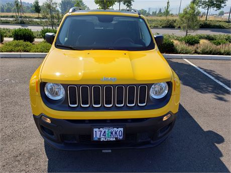 Jeep Credit Union >> Rogue Credit Union Auctions 2017 Jeep Renegade Sport Suv